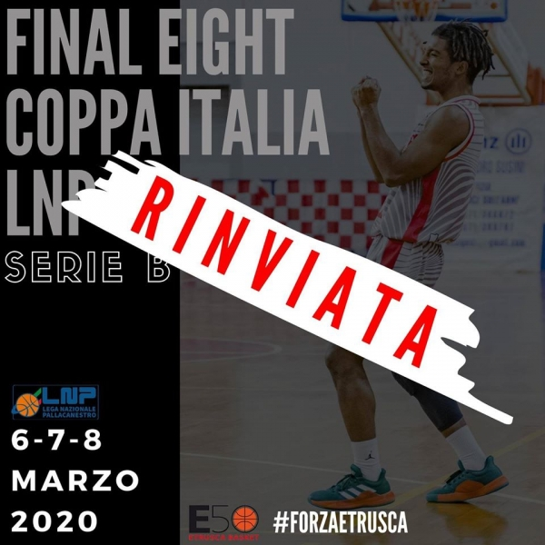 SERIE B - RINVIATE LE FINAL-EIGHT DI COPPA ITALIA